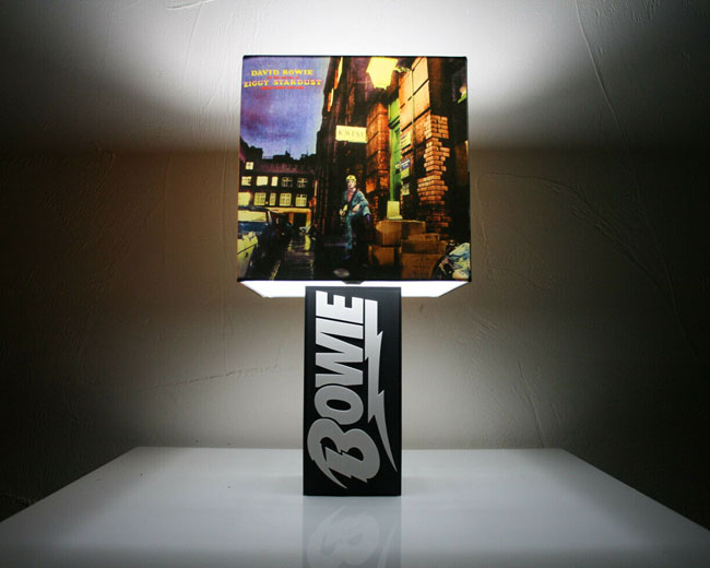 17. David Bowie album cover lamp range