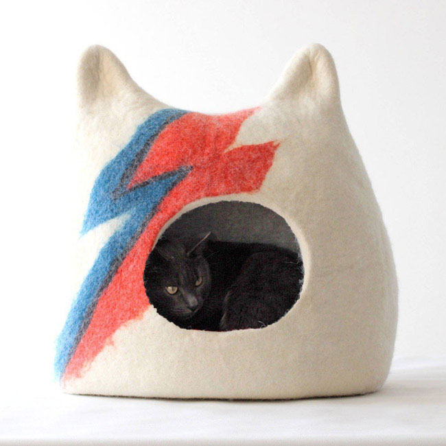 1. Ziggy Stardust Cat Cave