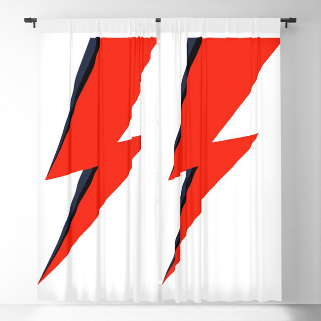 2. David Bowie Lightning Bolt range for the home