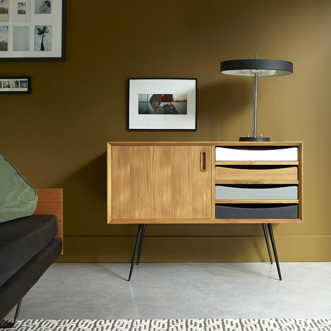 Ruben midcentury modern furniture range by Tikamoon