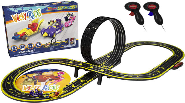 Retro fun with the Scalextric Wacky Races set