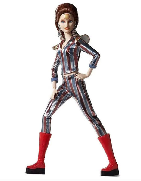 17. Limited edition David Bowie Barbie Doll by Mattel