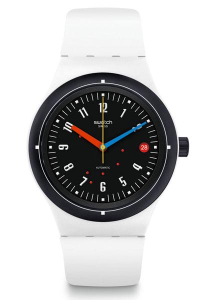 18. Bau range of Bauhaus-inspired Swatch watches