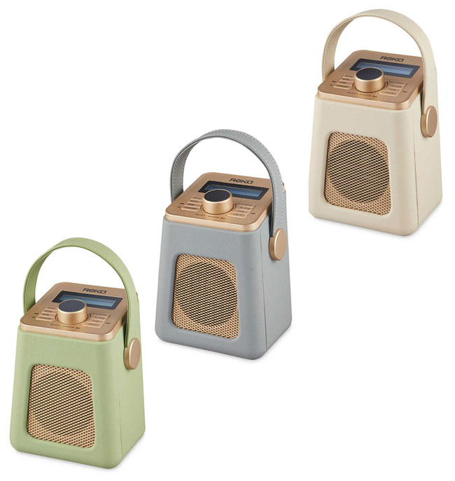 2. Budget audio: Retro Reka DAB radios at Aldi