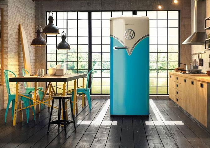 21. Kitchen cool: Five super-stylish retro fridges