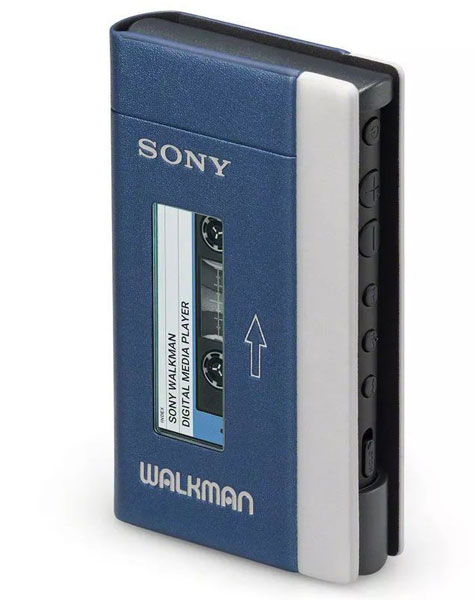 26. Sony unveils its 40th anniversary Walkman