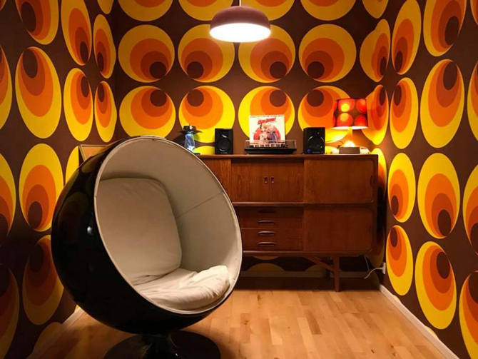 30. 10 of the best: 1970s-style wallpapers