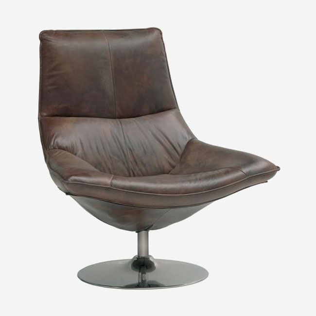 7. Carlotta retro swivel chair by Andrew Martin