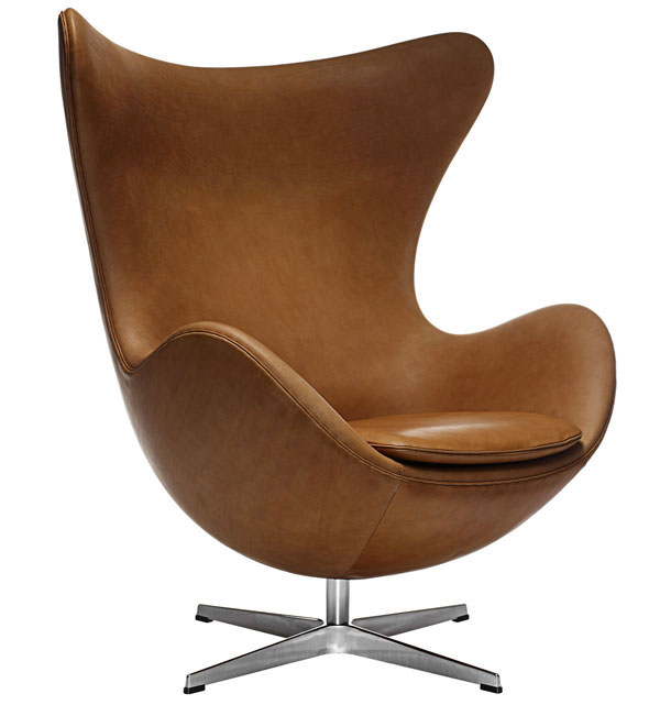 4. Egg swivel chair by Arne Jacobsen for Fritz Hansen