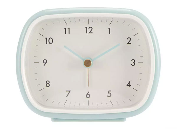 2. Retro alarm clock at Debenhams