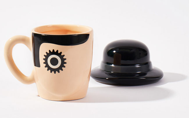 Kitchen cult classic: A Clockwork Orange mug