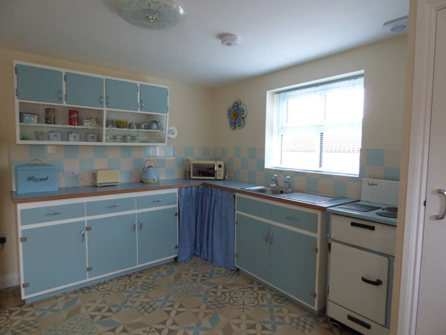 Back in time with a 1960s Airbnb house in Shildon, County Durham