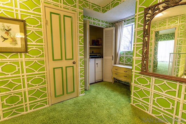 Move into a 1970s time capsule house in Ramona, California