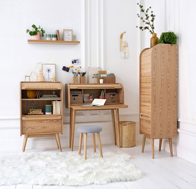 Wapong midcentury modern furniture at La Redoute