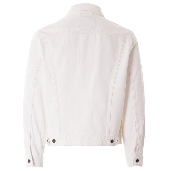 Vintage Levi's denim jacket in white back for the summer