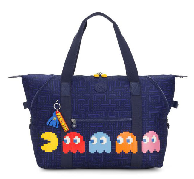 Kipling 40th anniversary Pac-Man bag collection launches