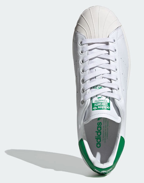 Two classics collide with the Adidas Superstan trainers
