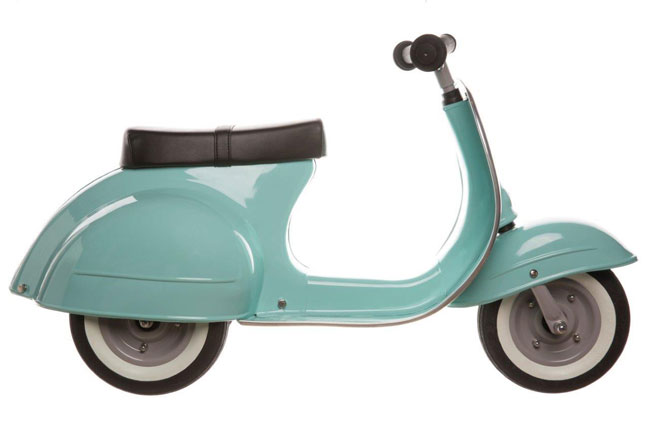 Ambosstoys launches Primo Vespa-style scooters for kids