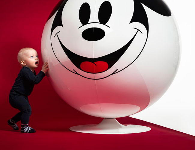 Eero Aarnio Ball Chair gets a Mickey Mouse makeover