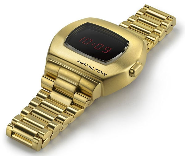 Hamilton PSR - the first-ever digital watch returns