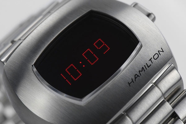 Hamilton PSR - the first-ever digital watch returns