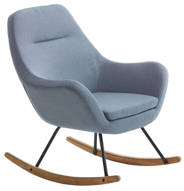 Nebel retro rocking chair at JYSK
