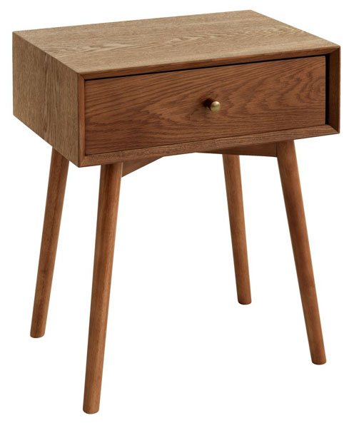 11. Hokksund midcentury modern side table