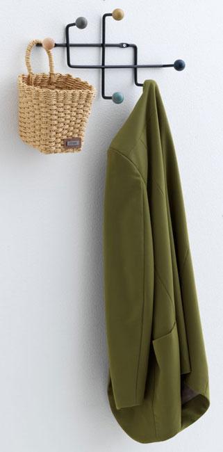 12. Gamby six-hook coat rack