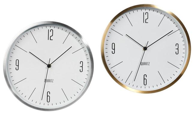 15. Halvor retro-style wall clocks