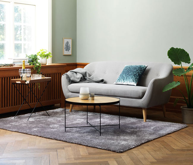 1. Egedal midcentury-style sofa (and armchair)