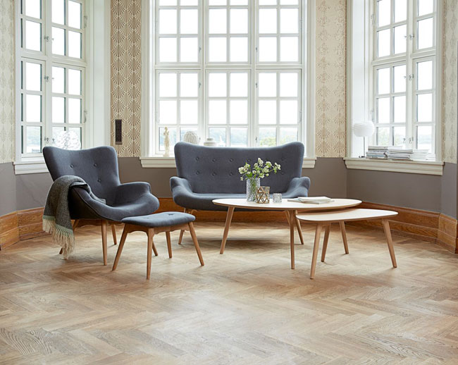 4. Lejre oak coffee table range