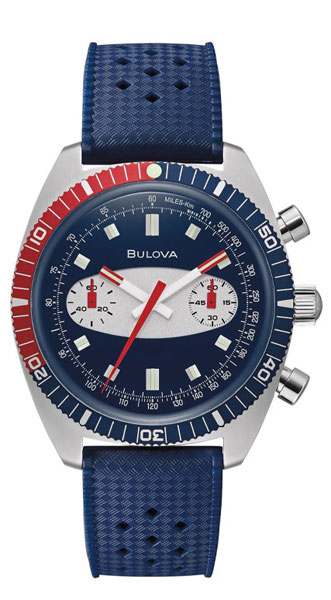 1970s Bulova Surfboard Chronograph watch reissued