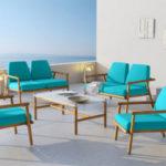 Midcentury modern garden furniture by Calme Jardin