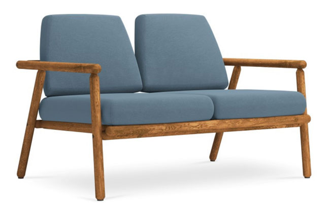 Midcentury modern garden furniture by Calme Jardin