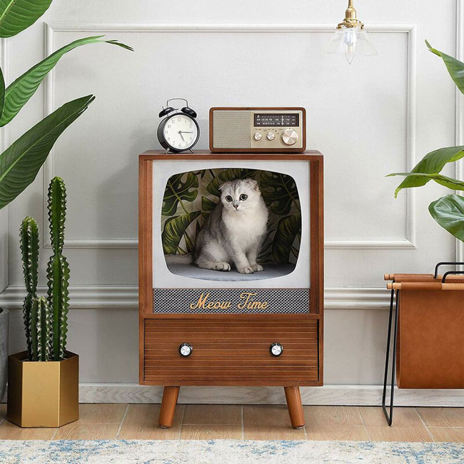 Five of the best retro cat houses