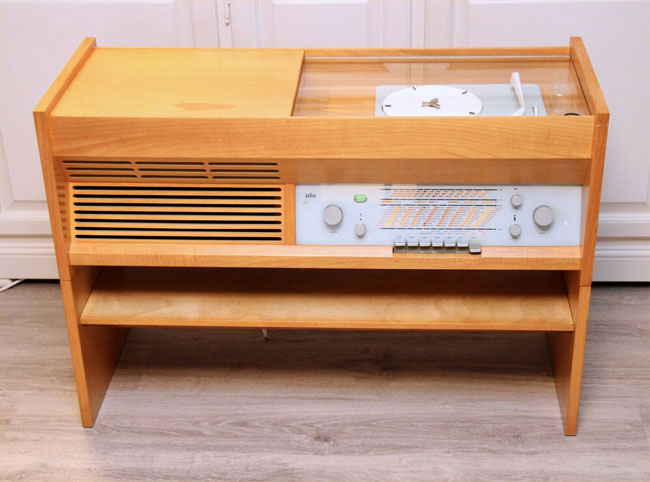 1950s Dieter Rams Braun PK-G3 radiogram on eBay