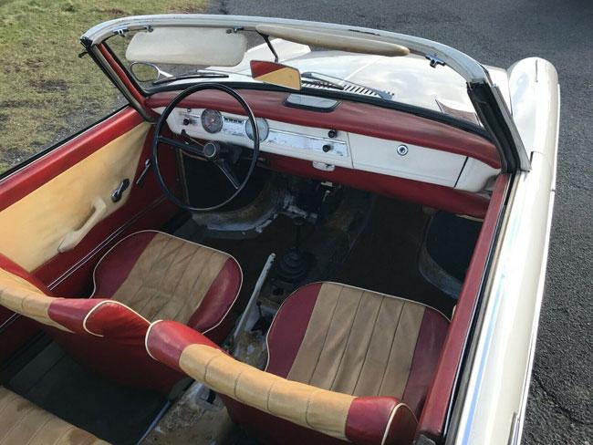 1962 BMW 700S Cabriolet by Baur on eBay