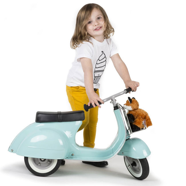 2. Ambosstoys launches Primo Vespa-style scooters for kids