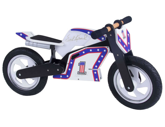 3. Evel Knievel balance bike