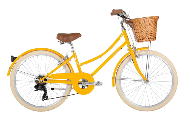 4. Gingersnap vintage-style bicycle by Bobbin Bikes