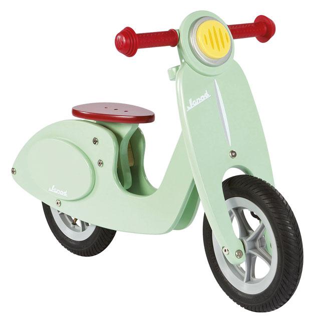 5. Janod Vespa-style balance scooter