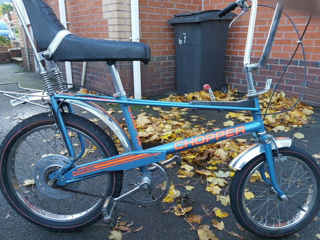 9. Vintage Raleigh Chopper
