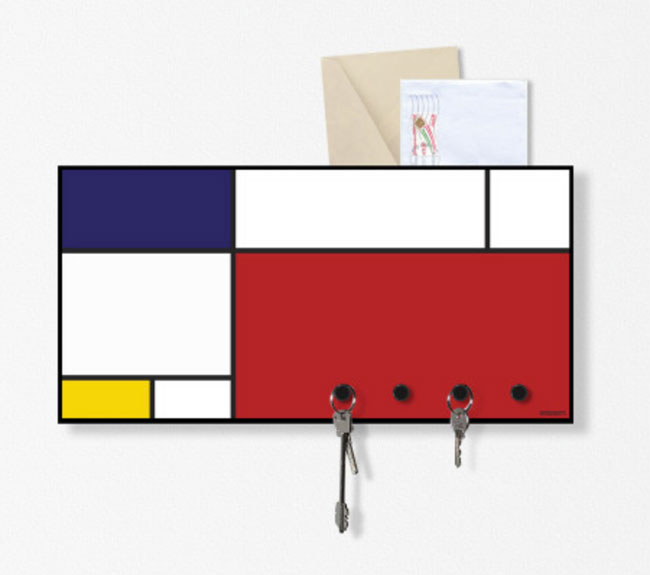 Mondrian wall organiser by Design Object