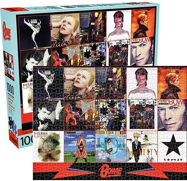 David Bowie album cover jigsaws by Zee