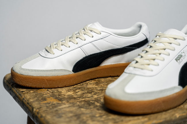 Now available: 1950s Puma Oslo-City trainers
