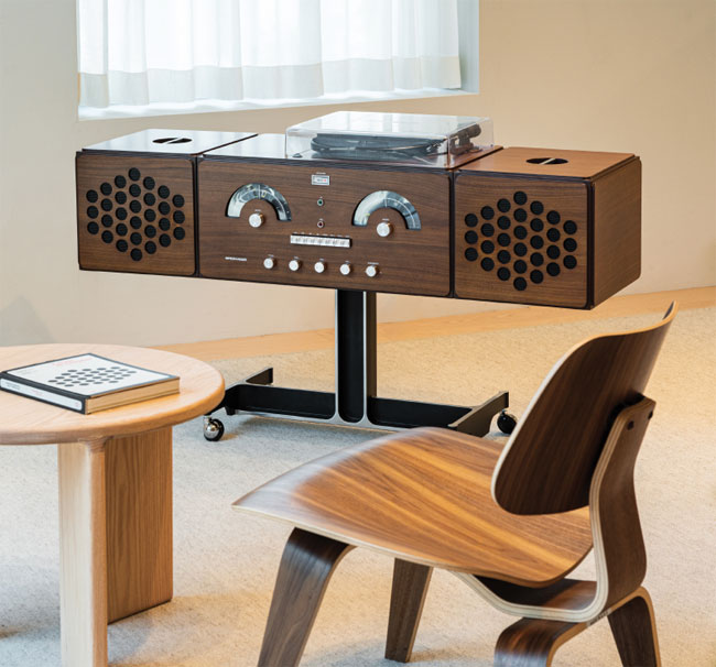 Limited edition 1960s Radiofonografo record player by Brionvega
