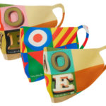 Sir Peter Blake pop art face masks