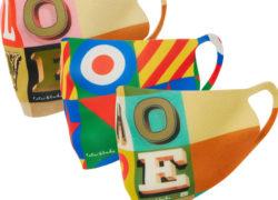 Sir Peter Blake pop art face masks