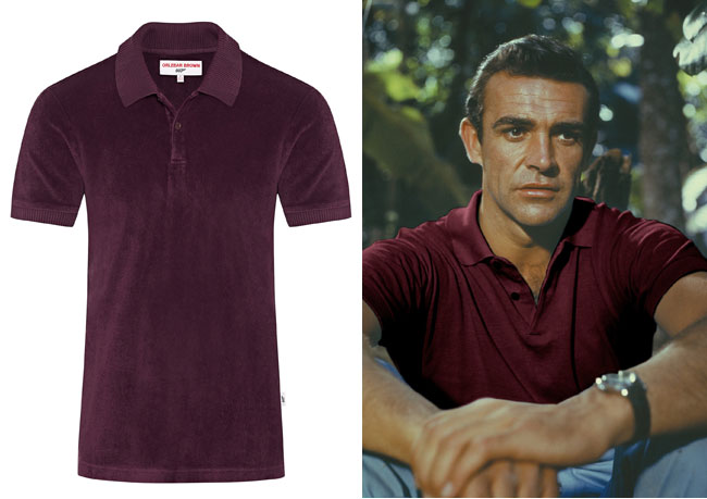 James Bond clothing classics by Orlebar Brown