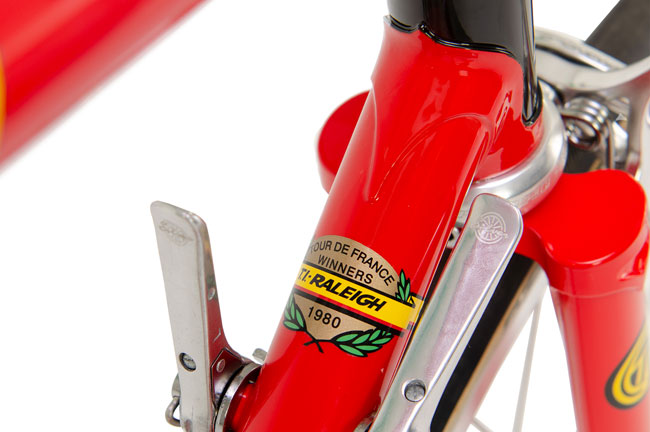 TI-Raleigh 40 - 40th anniversary Tour de France bicycle